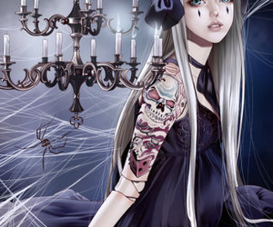 fantasy, art, and gothic image