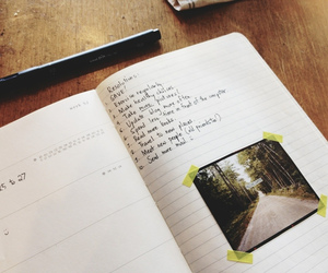 diary, journal, and picture image