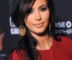 kim kardashian, kim, and braid image
