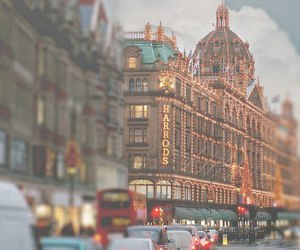 london, harrods, and city image