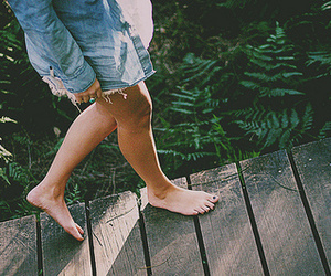 girl, feet, and photography image