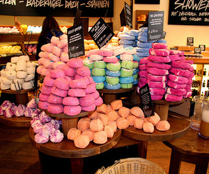 lush, soap, and food image