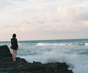 girl, sea, and photography image