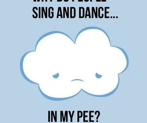 funny, clouds, and dance image