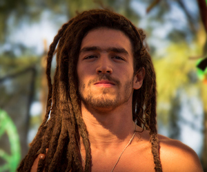dreads, man, and boy image