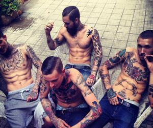 tattoo, boy, and sexy image