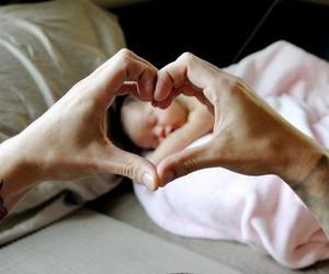 tattoo, baby, and heart image