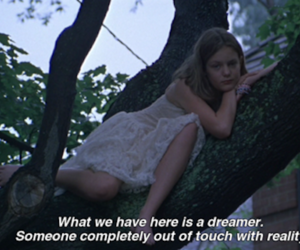 beautiful, daydreaming, and girl image