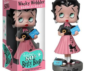 1950, betty boop, and pink image