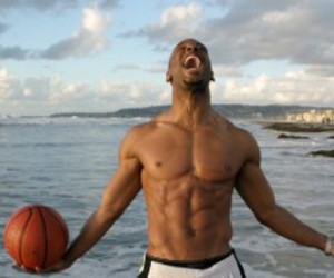african american, ball, and ocean image
