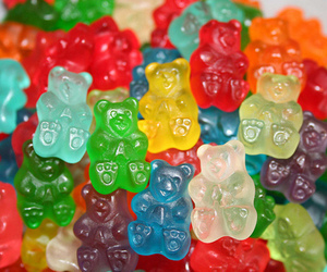 candy, food, and bear image