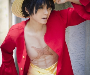 cosplay, one piece, and luffy image