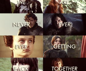 game of thrones, stark, and got image