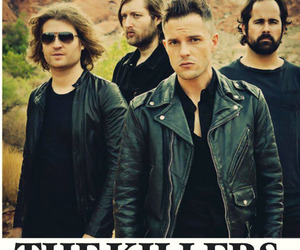 brandon flowers, gorgeous, and rock image