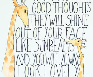 quotes, giraffe, and Roald Dahl image