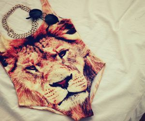 fashion, lion, and summer image