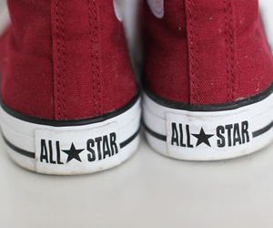 converse, red, and all star image