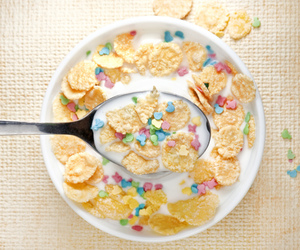 cereal, food, and breakfast image