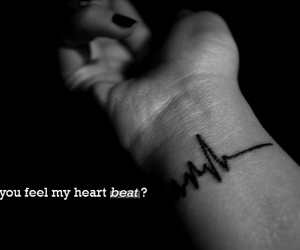 beat, heart, and photoshop image