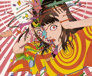 shintaro kago, illustration, and manga image