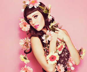 katy perry, flowers, and pink image