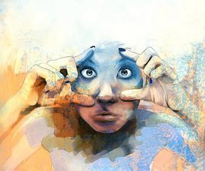 argentina, big eyes, and Carolina image