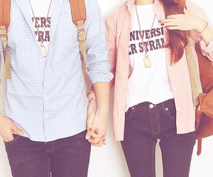 girl, couple, and fashion image