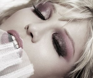 Courtney Love and makeup image