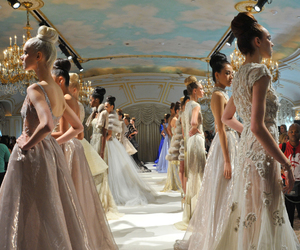fashion, model, and Couture image
