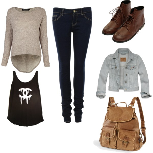 autumn, brown, and casual image