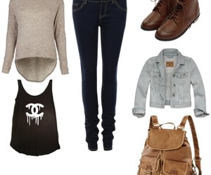 autumn, casual, and style image