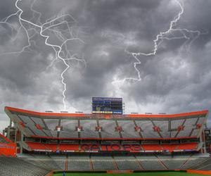 college, florida, and football image