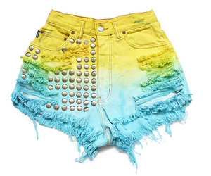 studs, blue, and cut offs image