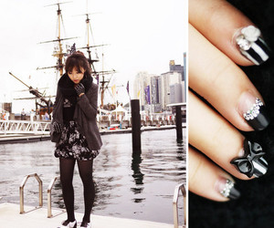 fashion, nails, and ship image