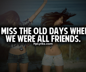 friends, quote, and miss image