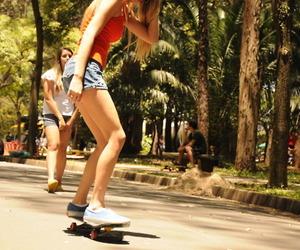 girl, skate, and photography image