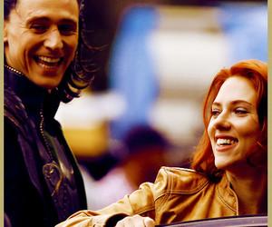 Scarlett Johansson and the avengers image