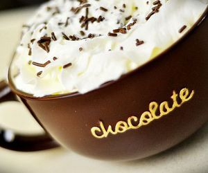 chocolate, food, and cream image