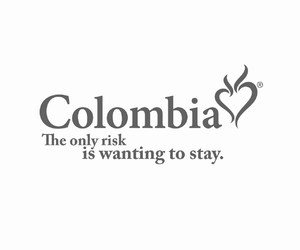 colombia, colombia es pasion, and the only risk image