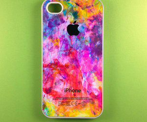 iphone, case, and colorful image