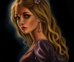 drawing, girl, and darkfever image