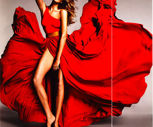 red dress image