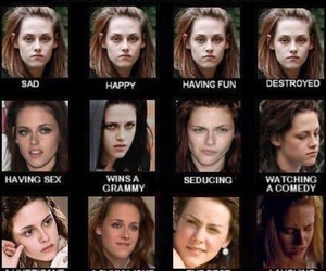 kristen stewart, twilight, and funny image