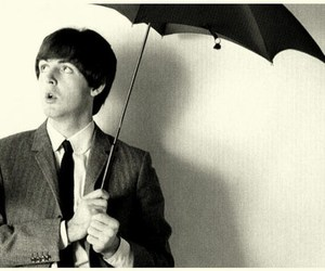 Paul McCartney, beatles, and vintage image