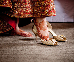 adorable, sandals, and indian wedding image