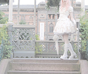 flowers, lolita, and garden image
