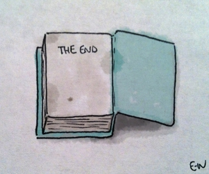 book, end, and the end image