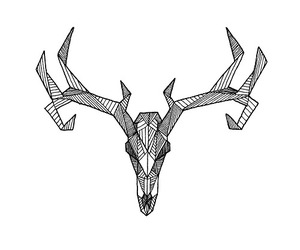 animals, aries, and deer image