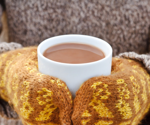 autumn, coffee, and winter image