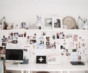 room, desktop, and bedroom image